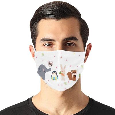 高品质可调节平面防尘罩(带2片滤芯)