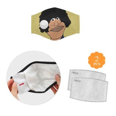 美国生产可调节立体防尘罩(带呼吸阀)(含2片滤芯)