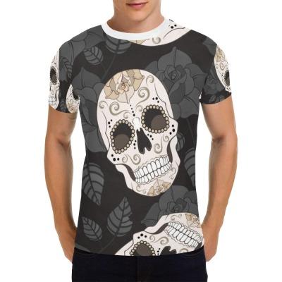 男士T恤整件定制3D定制T恤